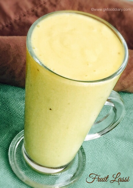 Fruit Lassi for Babies