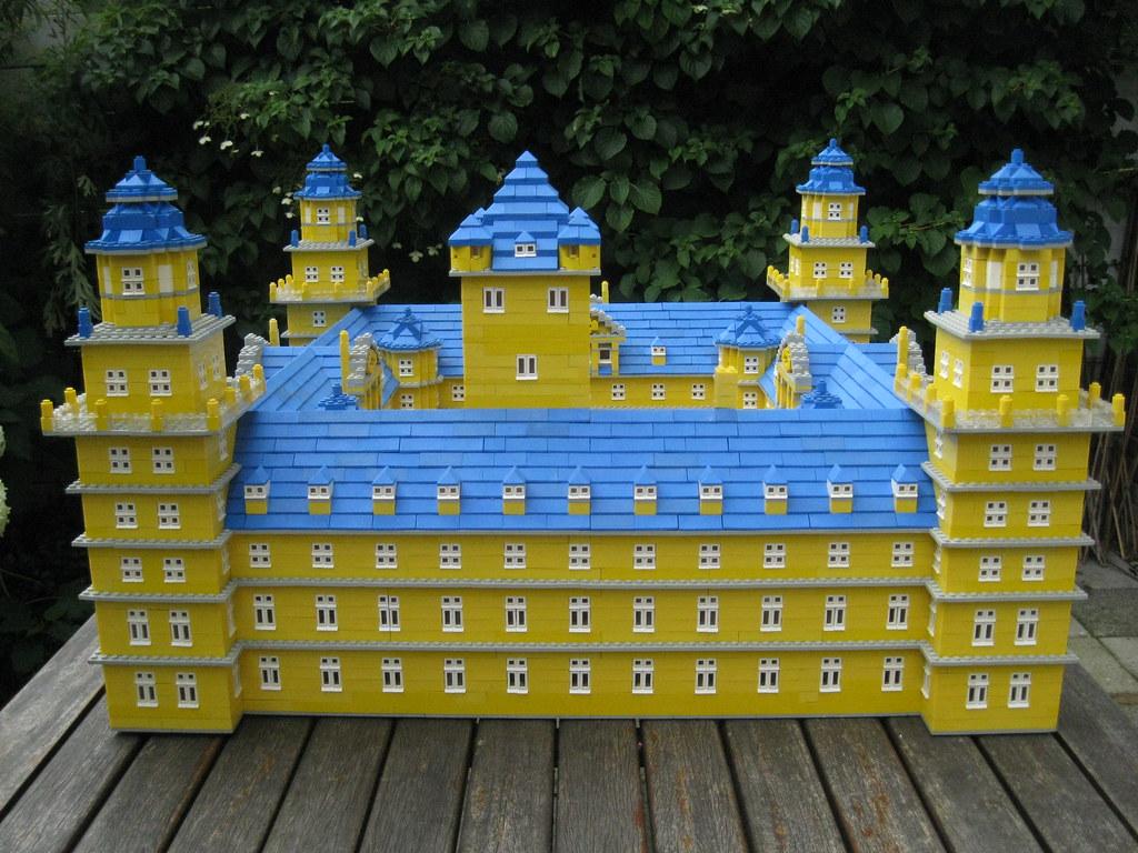 Johannisburg Castle, 1965, Lego toyshop display model, vintage