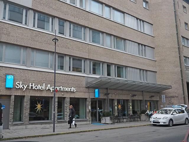 斯德哥爾摩住宿Sky Hotel Apartment_012