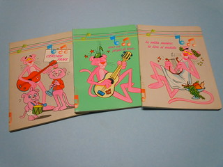 1985 Pink Panther A5 Notebooks