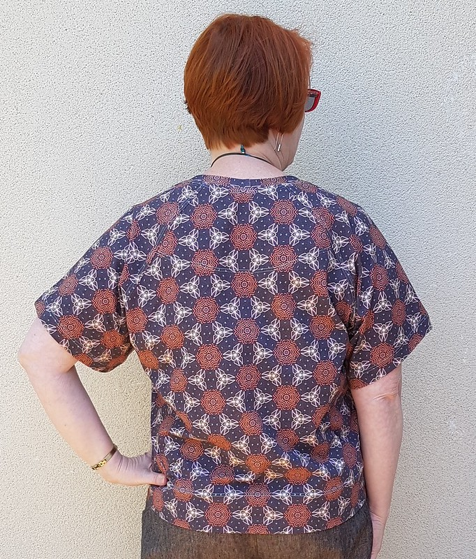 Pattern Fantastique Aeolian tee in Spoonflower cotton spandex print by Three Branches Design