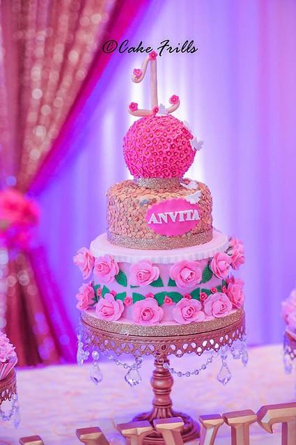 Cake by Chandrika Reddy of Cake Frills