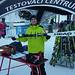 testování lyží