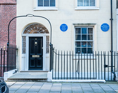 Photo of Beau Brummell blue plaque