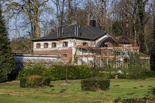 Westmeerbeek, oranjerie van kasteel Ter Borght