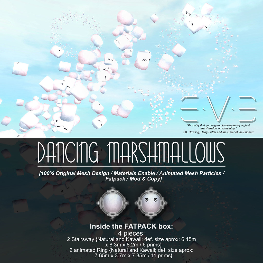 E.V.E Dancing Marshmallows {Info} - SecondLifeHub.com