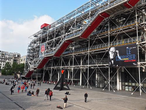 Urban Environments - Centre Georges Pompidou, Paris