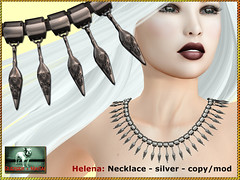 Bliensen - Helena - necklace - silver