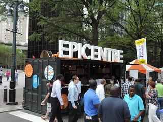 Epicentre at Taste of Charlotte