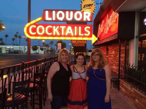 Atomic Liquors with the ladies