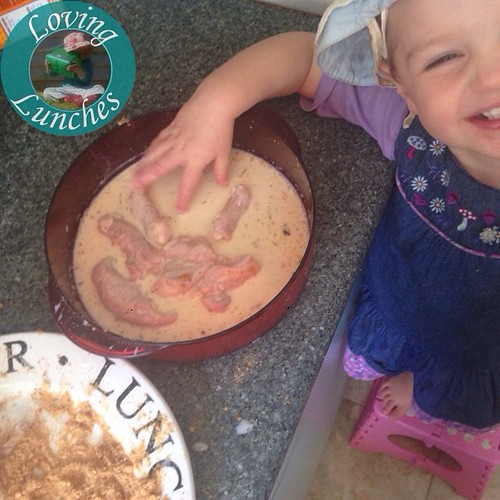 Loving a little help in the kitchen today… what are we making for my return to work lunch?