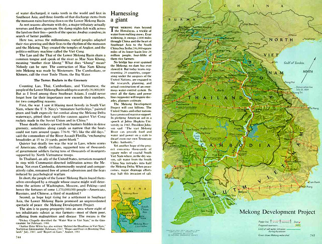 National Geographic Dec 1968 (4) - The Mekong, River of Terror and Hope