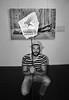 Solo Exhibition and Performance at Moscow Planetarium - Ben Heine Art - 2015 by Ben Heine