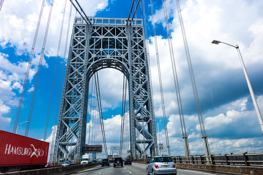 George Washington Bridge, New York, NY by Michael Vadon