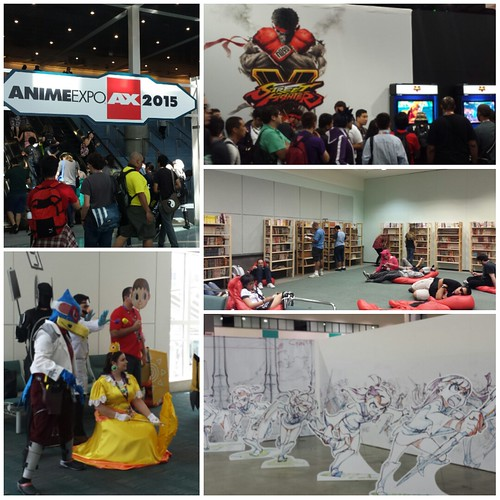 Anime Expo collage