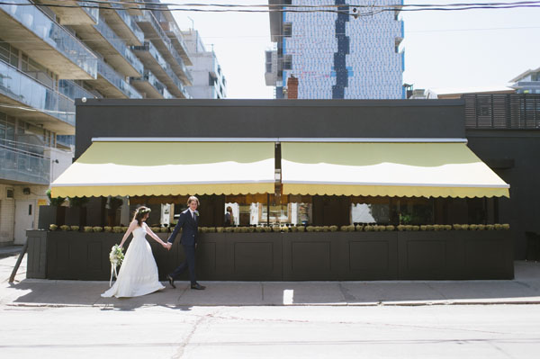 Celine Kim Photography Bellwoods Brewery intimate city wedding Toronto vintage ttc streetcar-38