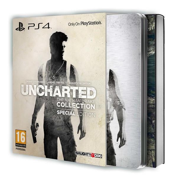 Специальное издание Uncharted: The Nathan Drake Collection