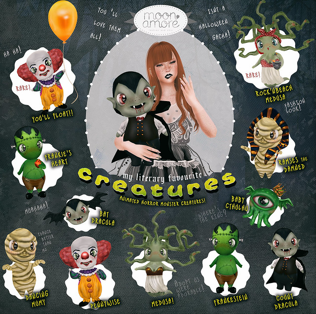 :Moon Amore: My Literary Favourite Creatures!