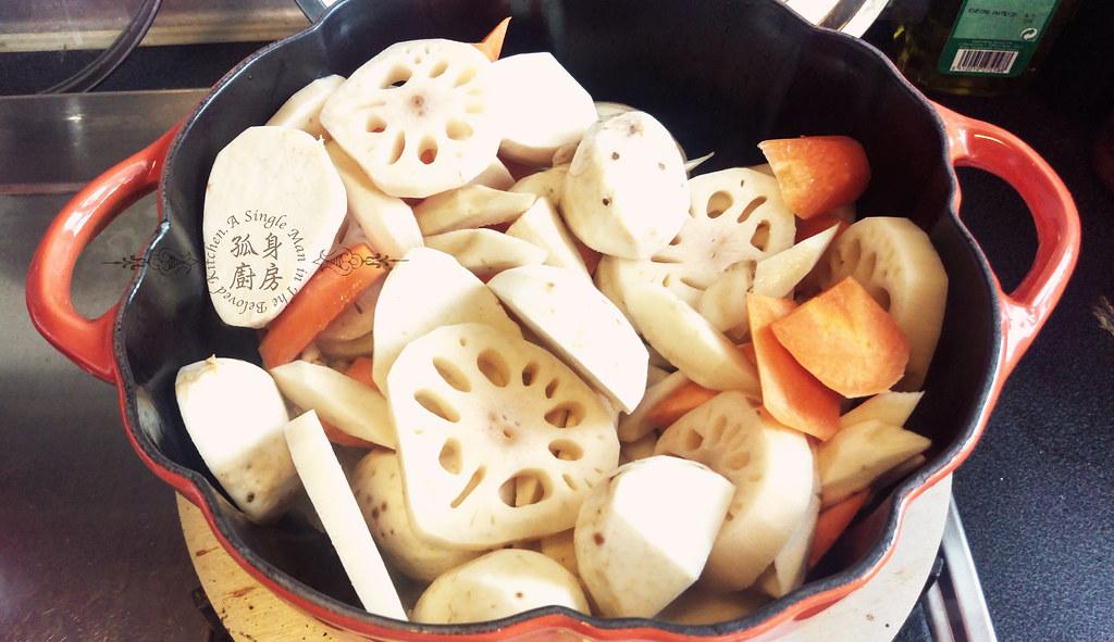 孤身廚房-食譜書《常備菜》試作——筑前煮、醬煮金針菇。甜滋滋溫暖和風味7