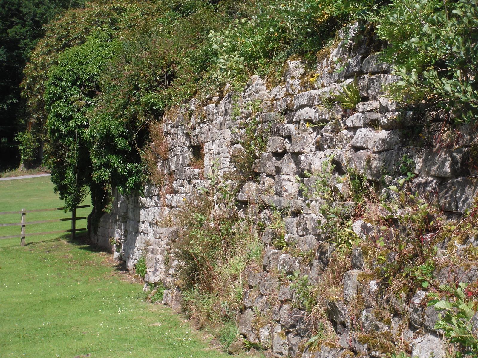 Wall, Old Wardour Castle SWC Walk 252 Tisbury Circular via Donhead St. Andrew