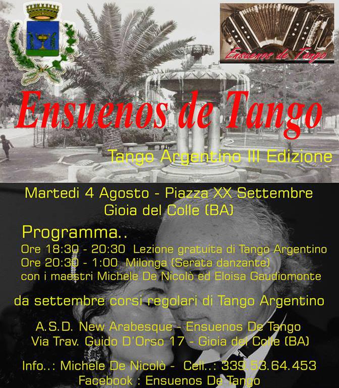 tango y milonga piazza xx settembre