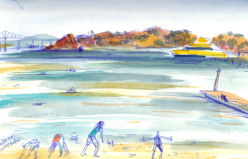 Sketchbook #90 - Trip to Angel Island