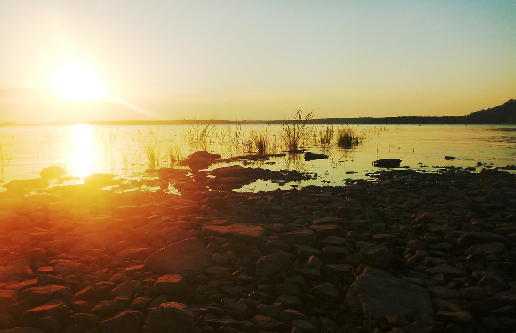 Image result for sunset over a meadow images
