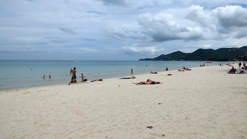 今日のサムイ島 8月3日 チャウエンビーチ