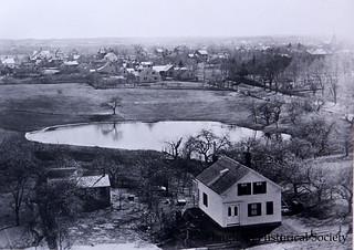 Burr Homestead in 1885