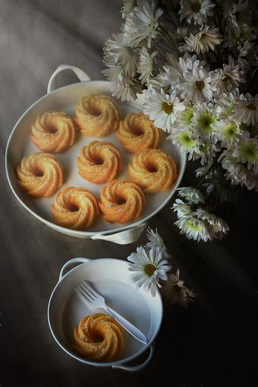 Citrus-Sesame Cake