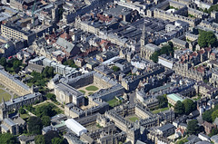 Oxford aerial image