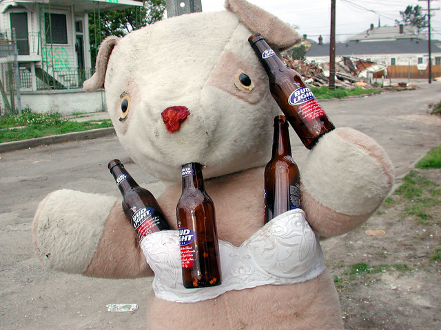 Bud Light Bear