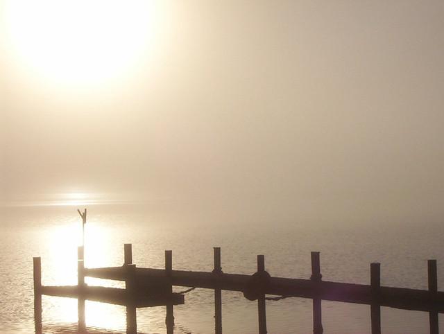 Sunrise through mist 11-3-06