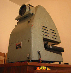 antique opaque projector