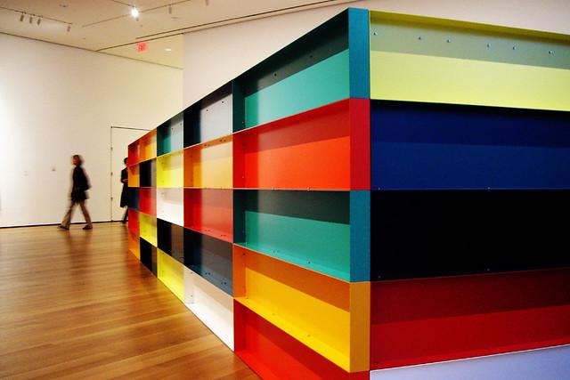 Colourful Box in MoMA