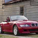BMW Z3 M Convertible Red