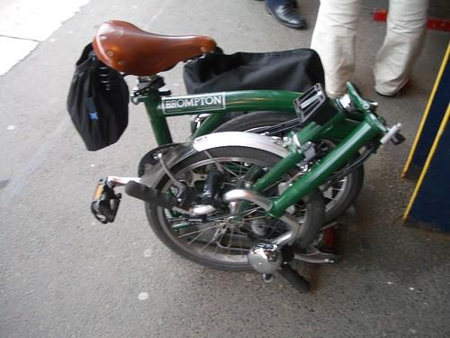 My fifth Brompton folding bike ~ one less car