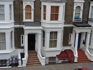 Londres, III 17, en face de mon hôtel pas cher