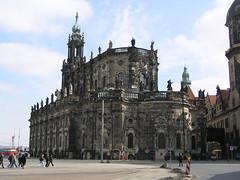 Hofkirche/Trinitatis cathedral