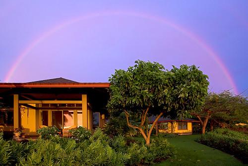 house hawaii rainbow kona turnaround atsunset busybusybusy 19432 anuenue