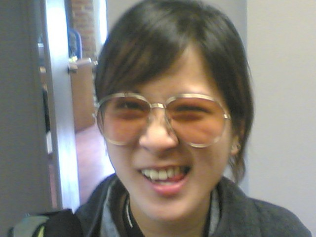 Cathy Wang Makes a Face at the Bryght Office