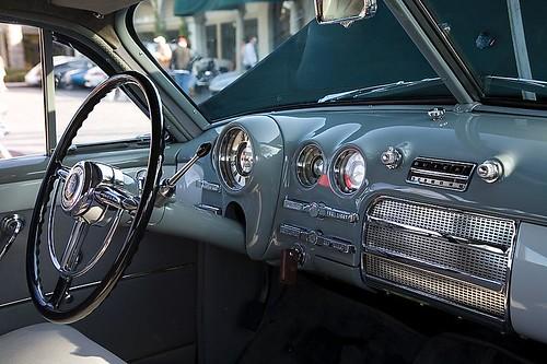 1949 Buick Sedanette Dashboard
