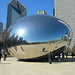 Giant Bean (aka Cloud Gate) at Millennium Park - side view