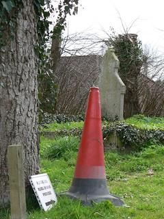 The ubiquitous traffic cone