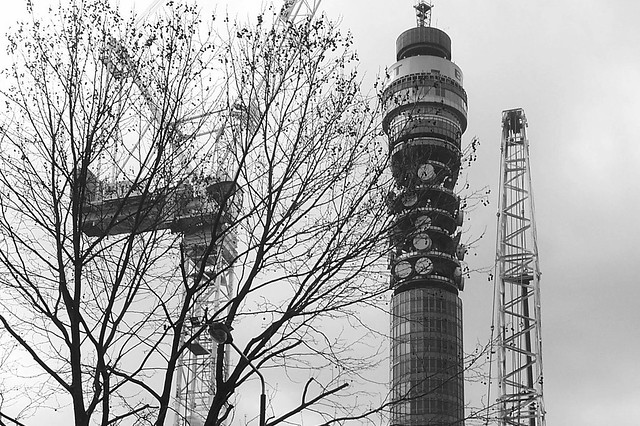 B W BT TOWER