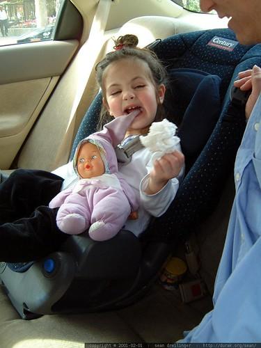 olivia, doll, car seat, 2001-02-01 dscf1718