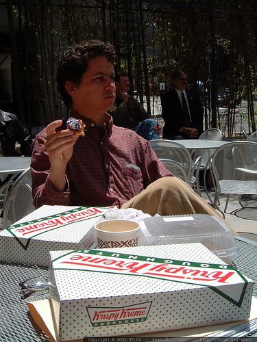 daniel has a few doughnuts   dscf2160