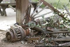 wagon wheel on jack & donna's new property