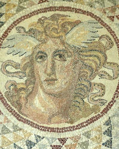 Medusa Mosaic Detail