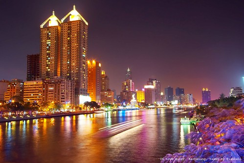 night taiwan kaohsiung myfavorite 台灣 高雄 loveriver 愛河